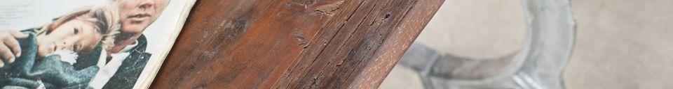 Material Details Antique teak table Tonnel