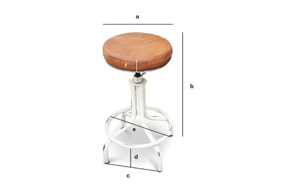 Product Dimensions Apothecary stool