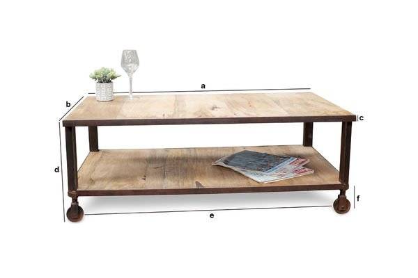 Product Dimensions Aristode coffee table