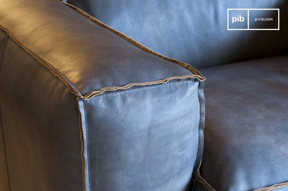 Full grain aniline leather, exceptional quality, durability.