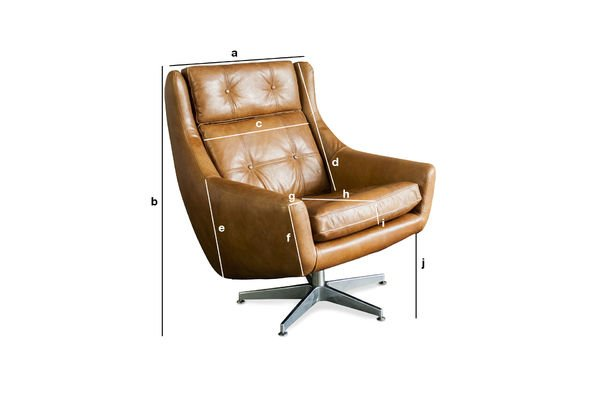 Product Dimensions Armchair Bushley
