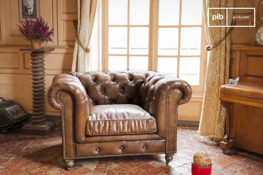 Armchair Chesterfield Saint Paul