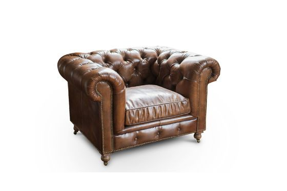 Armchair Chesterfield Saint Paul Clipped