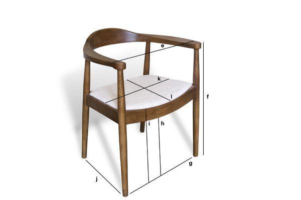Product Dimensions Armchair Johannes