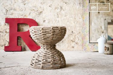 Arpillera stool