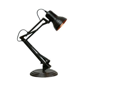 Articulated desk lamp Clipped