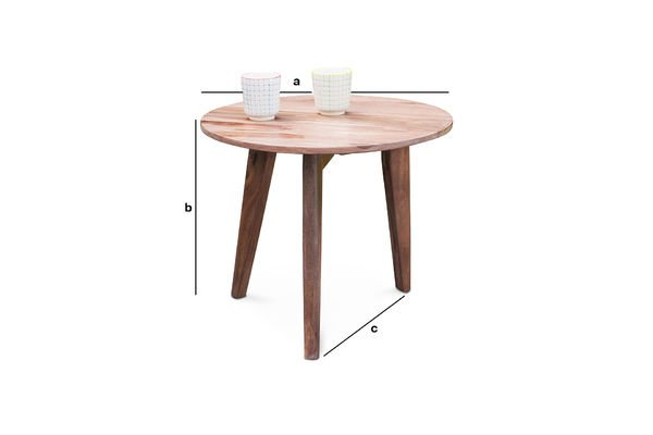 Product Dimensions Ascënt sofa end table