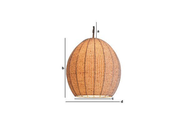 Product Dimensions Astemik pendant light