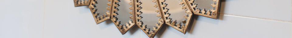 Material Details Aurinko Brass Mirror