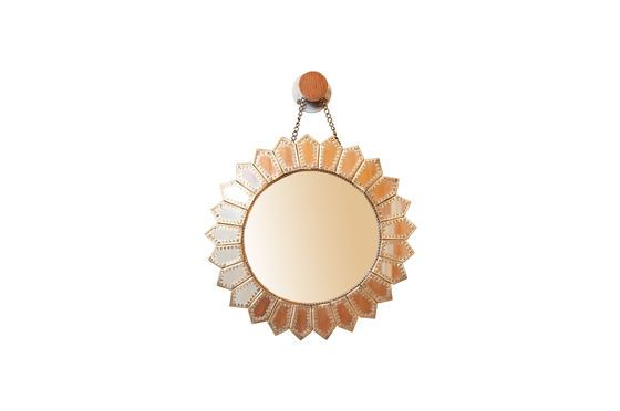 Aurinko Brass Mirror Clipped