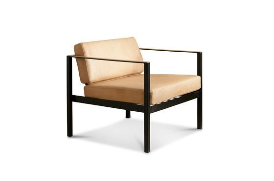 Avayona leather armchair Clipped