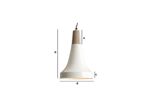 Product Dimensions Balissö pendant light
