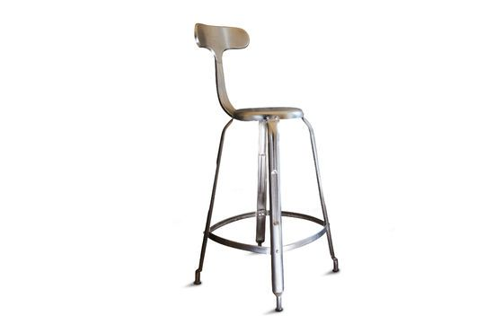 Bar stool with rivets Clipped