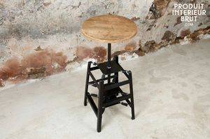 Bar stool with spring mechanism