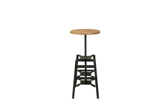 Bar stool with spring mechanism Clipped