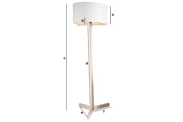 Product Dimensions Barbara standard lamp