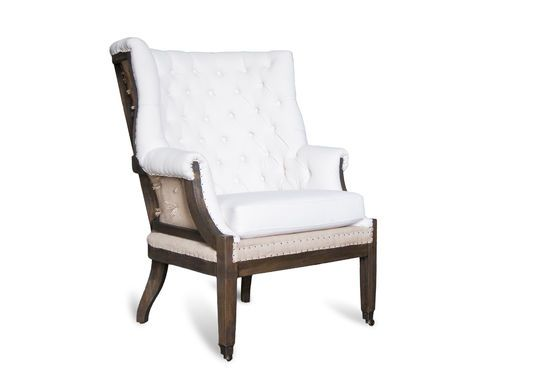 Baroque armchair Cambridge Clipped