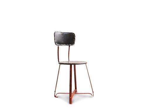 Bastel metal chair Clipped