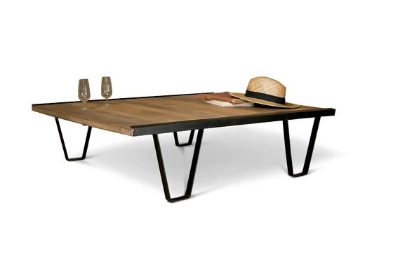 Bay Teck coffee table Clipped