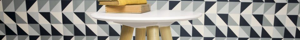 Material Details Beel occasional table