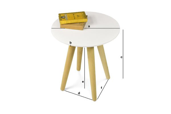 Product Dimensions Beel occasional table