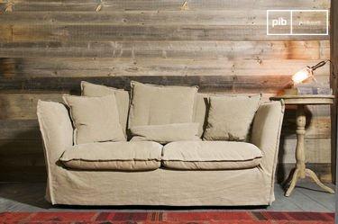 Beige Mélodie sofa