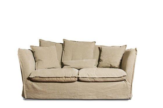 Beige Mélodie sofa Clipped