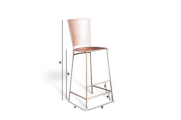 Product Dimensions Belery Bar Stool