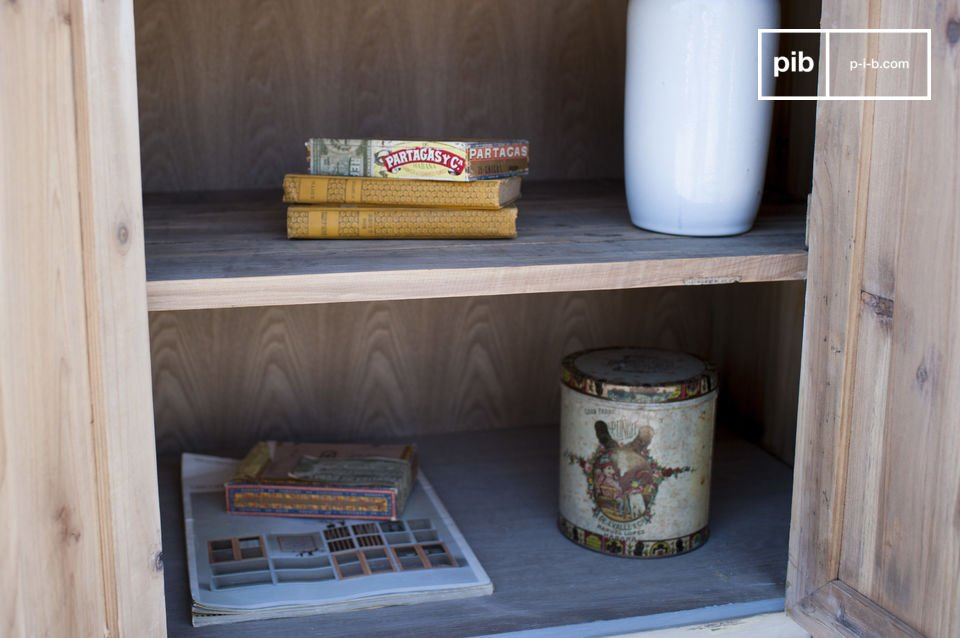 A charming sideboard with vintage style