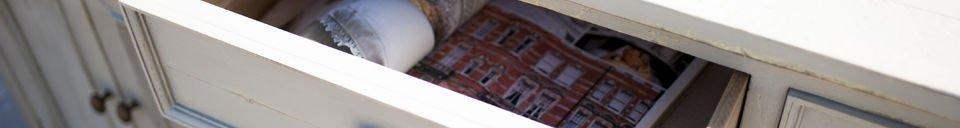 Material Details Belleville wooden sideboard