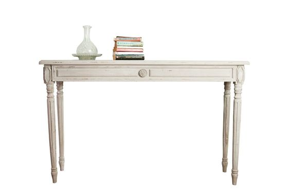 Bellevue wooden console Clipped