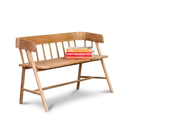 Bench Bovary made of teakwood Clipped