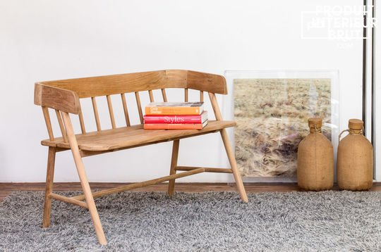 Bench Bovary made of teakwood