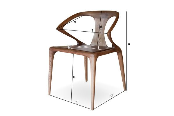 Product Dimensions Bentwood chair Kirsten