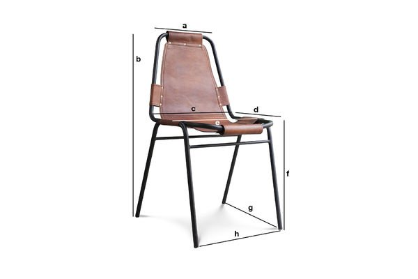 Product Dimensions Bergson chair