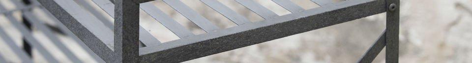Material Details Bidart storage console