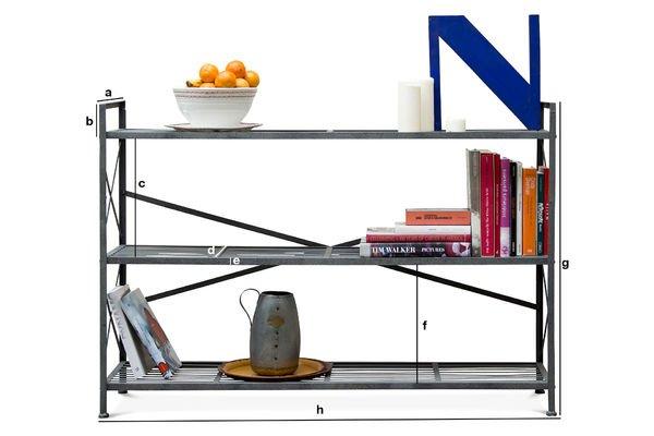 Product Dimensions Bidart storage console