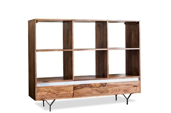 Big bookcase Mabillon Clipped