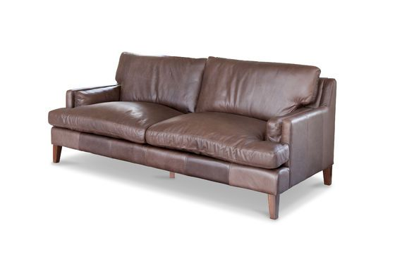 Big leather sofa Sanary Clipped