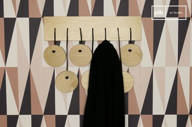 Billünd Scandinavian coat rack