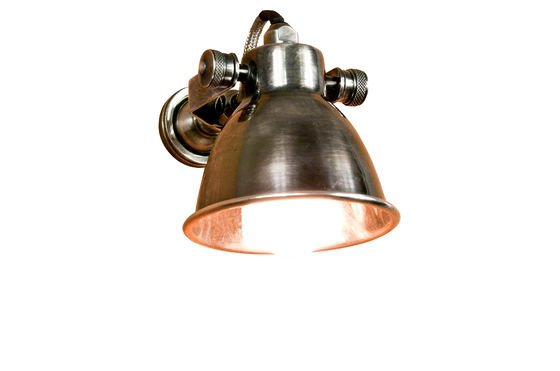 Bistro screw-based wall lamp Clipped
