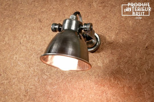 Bistro screw-based wall lamp