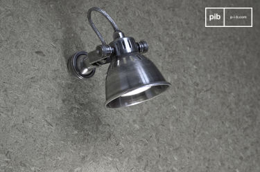 Bistro-style wall lamp