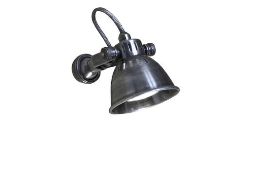 Bistro-style wall lamp Clipped