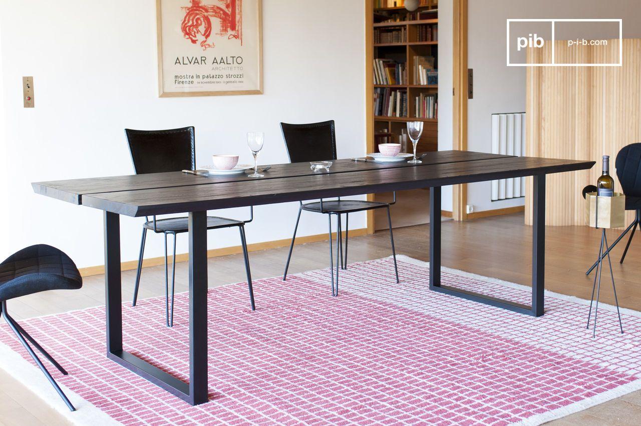 Black Ash Osaka Dining Table Solid Wood Large Format Pib Ireland