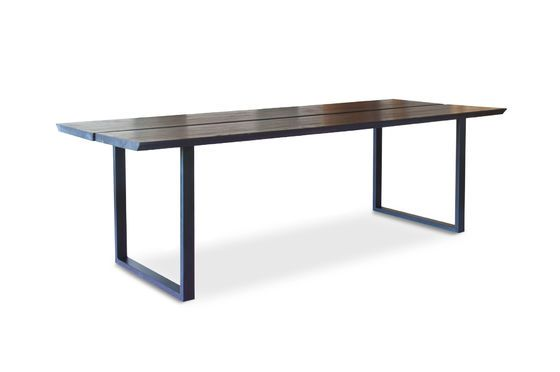 Black ash Osaka dining table Clipped