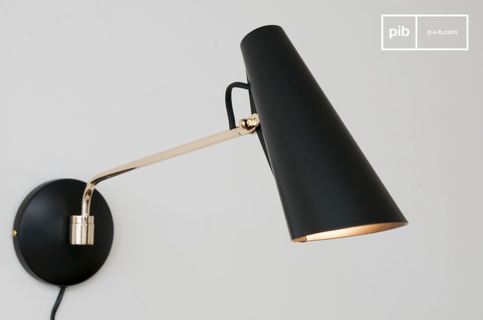 A designer lamp with a delicious vintage style