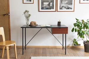 Black desk Kater Hinn