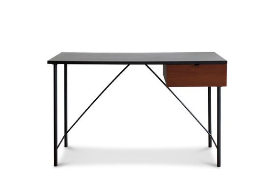Black desk Kater Hinn Clipped