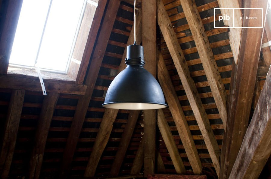 Black Edition Factory Pendant Light